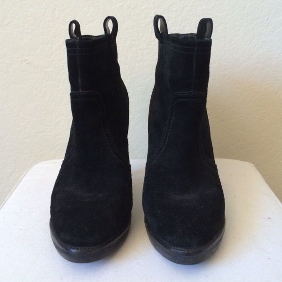 Bcbg Generation Shoes Boots Ankle Leather Bootie