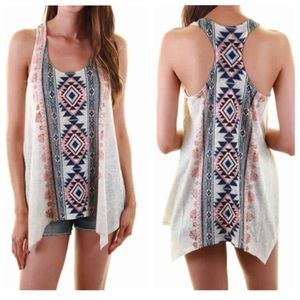 Hot Seller🔥Aztec Racerback Tank Top