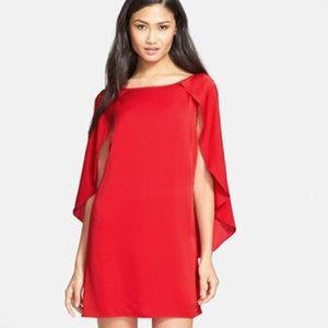 c04deedc5f Milly Dresses - Brand new with tags designer Milly red cape dress
