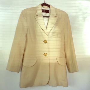 Louis Feraud wool/silk jacket