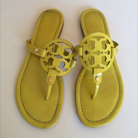 8d4679bfb Tory Burch Miller patent sandals - 10. M 5511dacac7dcbf19f5002816
