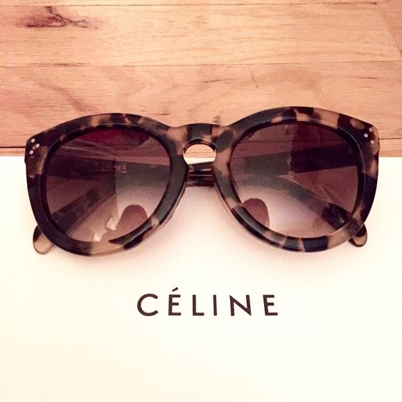 aa5977588516 💥FINAL REDUCTION NWT Celine Lrg Round Sunglasses