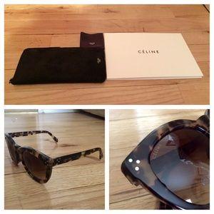 61ee57a1dcc74 Celine Accessories - 💥FINAL REDUCTION NWT Celine Lrg Round Sunglasses
