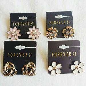 F21 Studded Earrings