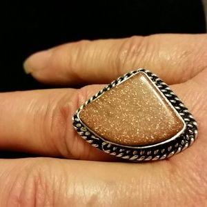 Jewelry - 🎀Bronze Stone Ring