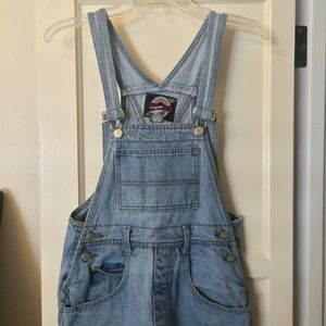 Dresses & Skirts - Jean overall shorts