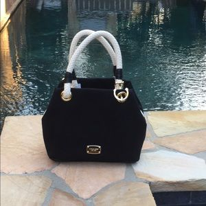 Michael Kors Black Marina Grab Bag