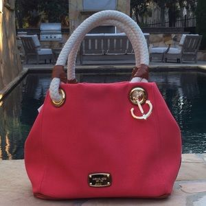 Michael Kors Watermelon Marina Grab Bag