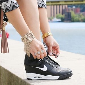 Nike Shoes - Nike Revolution Sky Hi Wedge