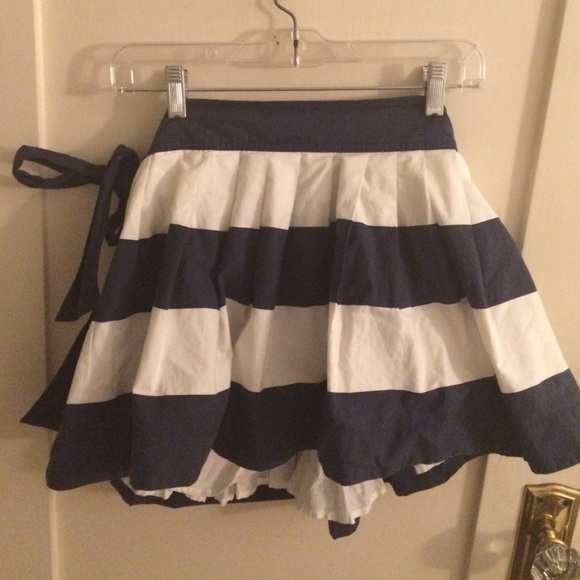 68 abercrombie fitch dresses skirts navy blue
