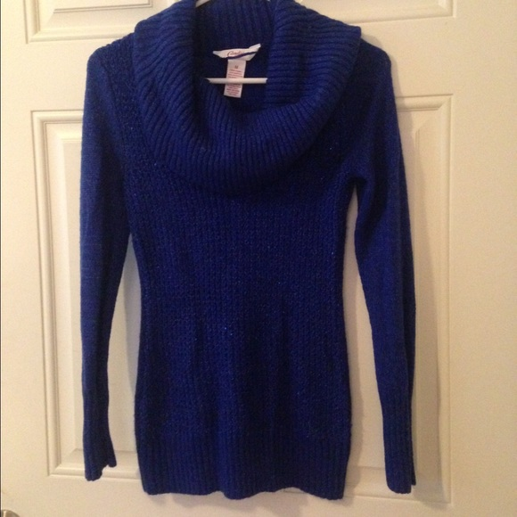 40% off Candie's Sweaters - Candies royal blue cowl neck sweater ...