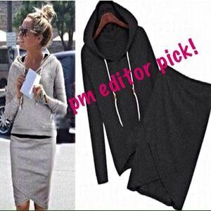 🎉PM editor pick!🎉 sweatshirt & sweatskirt set