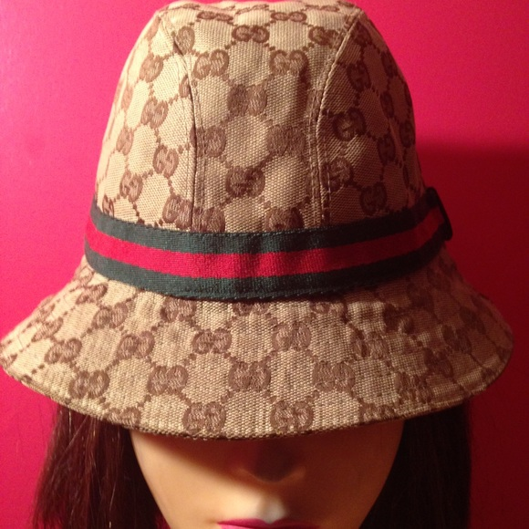 Gucci Accessories - Gucci Original GG canvas fedora