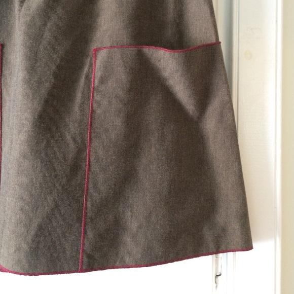 Kara line Skirts - Kara line brown corduroy skirt