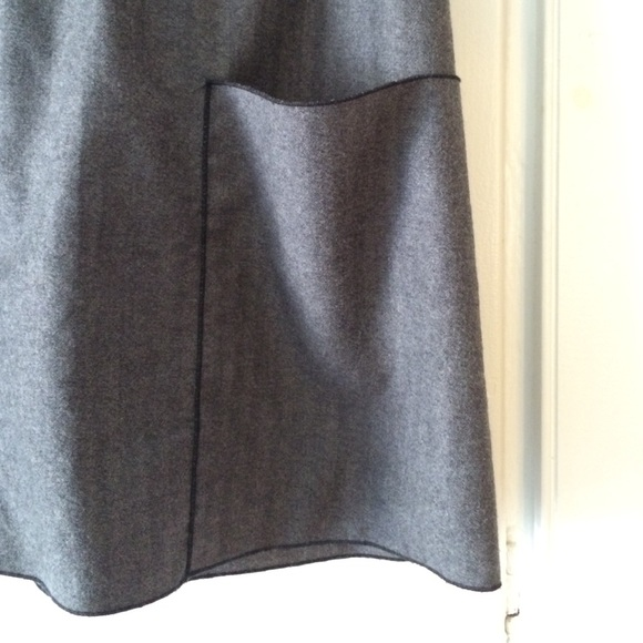 Kara line Skirts - Kara line gray wool skirt