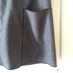 Kara line Skirts - Kara line gray wool skirt