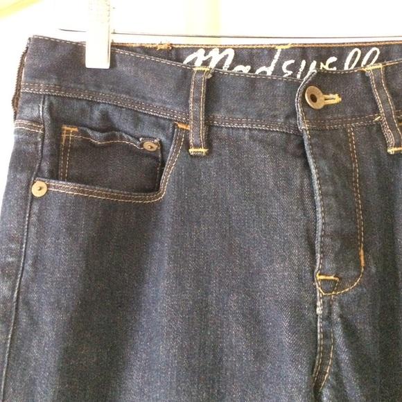 Madewell Jeans - Madewell dark wash straight leg jeans