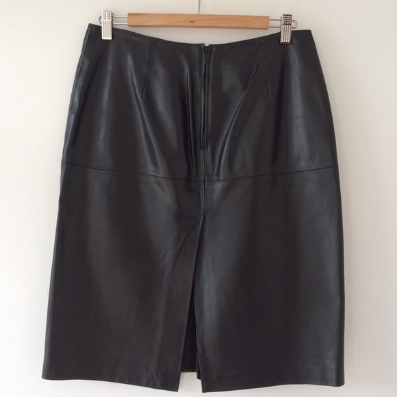 sisley soft leather skirt 30 quot waist from ume s closet