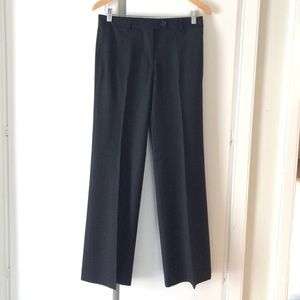 J. Crew black wool pants