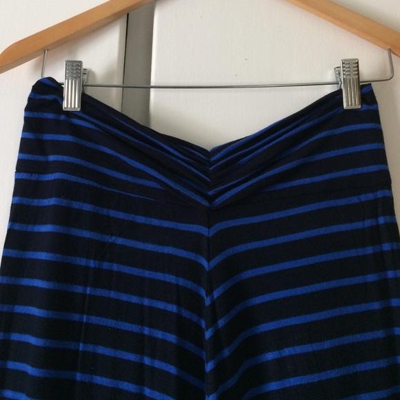 J. Crew Skirts - Blue and black J. Crew maxi skirt