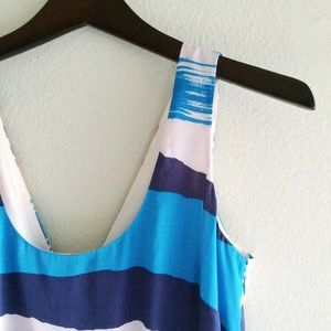 🆕NWT Watercolor Blue Dress