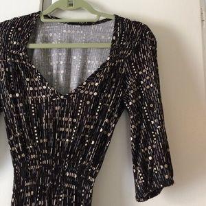 Modaspia Dresses - Modaspia black print dress