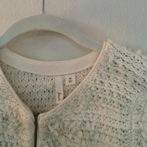 Frenchi knit cardigan