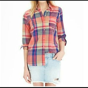 Old Navy Checked Oxford