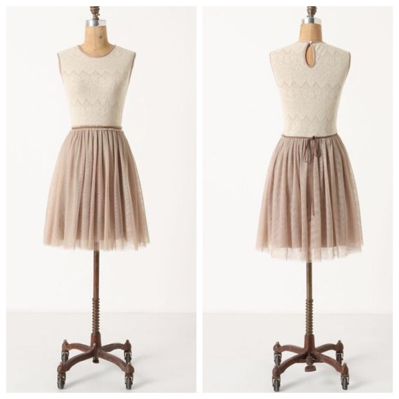 26aa47ac8d Anthropologie Skirts | Ballerina Tulle Skirt Dress | Poshmark