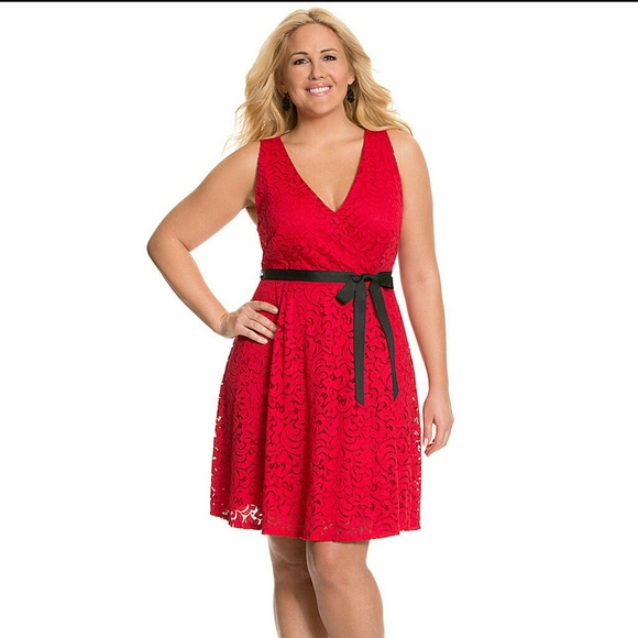 Awesome Lane Bryant Red Dresses Photos - Mikejaninesmith.us ...