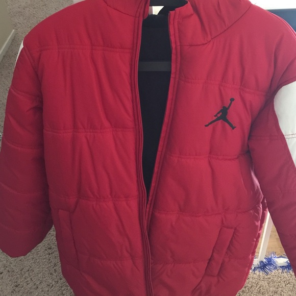 327e24b5f808 Jordan Jackets   Blazers - Red Jordan Bubble Jacket