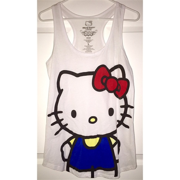 87af5ec708535a Hello Kitty Tops - Hello Kitty Tank Top😺