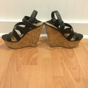 6fbc76d12e02 DSW Shoes - 🔥PRICE DROP🔥 DSW Cork Bottom Black Summer Wedges