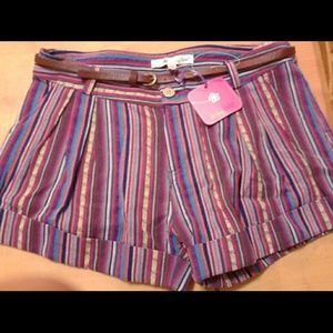 Other - Multicolored purple baja shorts