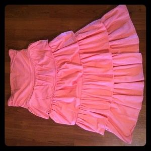 J. Crew Tiered Ruffle Dress, size M. Summer sale!!