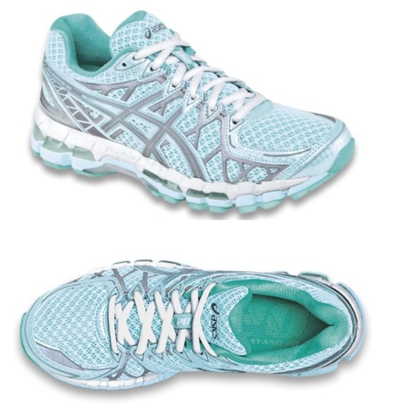 asics kayano 20 mint green