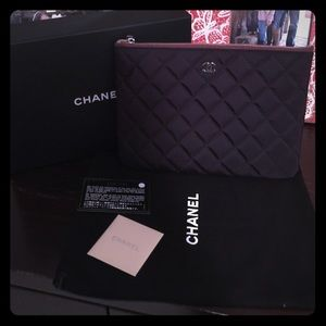 CHANEL Clutches & Wallets - SOLD!!Brand New Chanel Pouch/Clutch