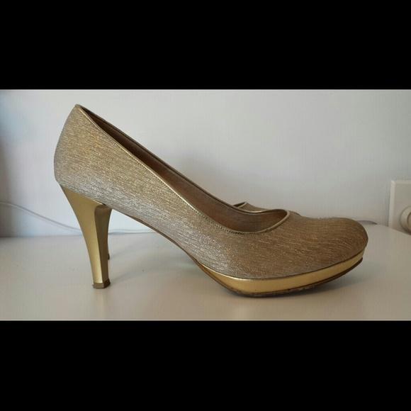 Gold Color High Wheel Shoes | Poshmark