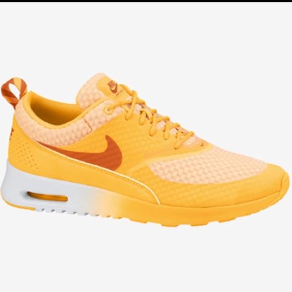 e65a51c061 Nike Shoes | Sunset Orange Air Max Thea | Poshmark