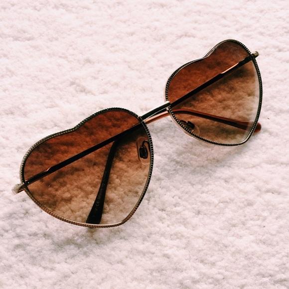 5e3f20dfe0d56 heart shaped sunglasses 💓
