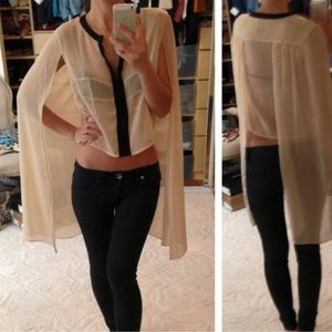 ASOS Cape Blouse