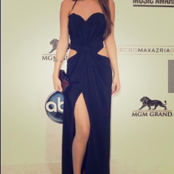 f0640ee7a21f NWOT Selena Gomez inspired Champagne prom dress