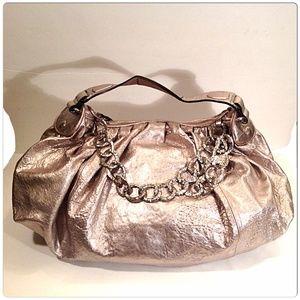 Juicy Couture Handbags - Juicy Couture Silver Hobo💢SOLD💢
