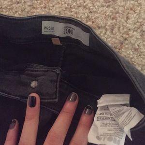 69f3c723675 Topshop Jeans - Topshop Joni Jeans-Washed Black