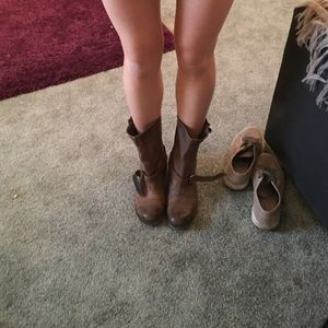 Boutique 9 taupe brown boots more pics
