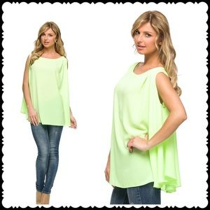 Cloud 9 Tops - 🆕Margarita Lime Shift Top