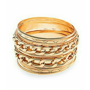 Cara Couture Multi Bangle Bracelet Set