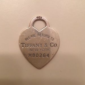 Tiffany&Co Sterling Silver Charm