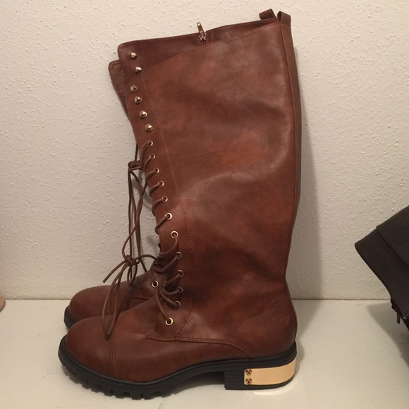 65 torrid boots brown combat boots from s