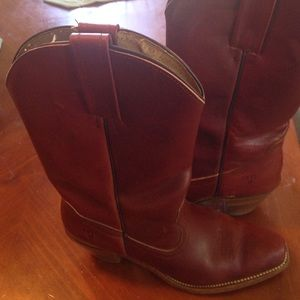 GARNET FRYE Boots SZ 8.5 Leather